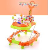 Caminante plástico ajustable del bebé del juguete del modelo nuevo para los cabritos