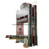 Folheado de madeira de contraplacado de máquina de pressão a frio