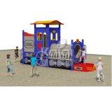 スライドが付いている子供の遊園地のためのPEから成っている更新済運動場