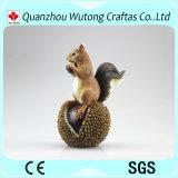 다람쥐 작은 조상 정원 훈장의 수지 귀여운 각종 종류