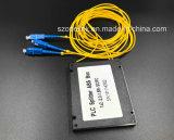 Разъем Scpc Splitter PLC пластичной коробки Gpon 1X2 кабеля оптического волокна