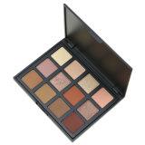 Maquillaje Glitter Eyeshadow Palette, 12 colores cálidos Eyeshadow Palette Smokey Eye High-Pearl Mate Efecto Polvo de la capacidad de reparación brilla y la sombra de ojos mate