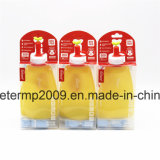 11oz портативный Leak-Proof бисфенол-А силиконовая поездки бутылка воды (hn-s001)