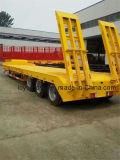 Высокого качества 3 Axles низкий кровати трейлер Semi