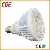 Lámparas PAR PAR38-COB-15W 1380LM AC100~265V PAR30 bajo precio bombilla LED LED Iluminación LED