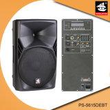15 Spreker pS-5615debt van Bluetooth EQ van de FM van de AMPÈRE USB BR van de duim de PRO350W Digitale Plastic Actieve
