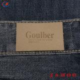 Relevo de logotipo original e o material de PU Etiqueta de couro personalizado para o vestuário
