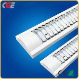 Luzes do tubo de LED de luz LED T8 2X28W Lâmpada de grelha dianteira rebaixada 2FT/3FT/4FT para T8/T5 Luzes do tubo de LED
