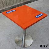2 Seaterの現代レストランの円形のダイニングテーブル