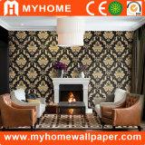 Diseño especial de flores Papel de pared de lujo para hotel / restaurante
