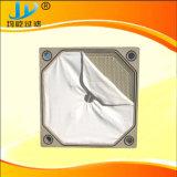 La aguja de poliéster de filtro de fieltro tela perforada.