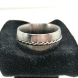 De nieuwe Combinatorische Ring van de Vinger van het Roestvrij staal van de Juwelen van de Mens van de Manier