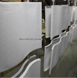 metallo perforato architettonico curvante di figura di 3mm per la decorazione della costruzione
