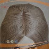Sheitelの絹の上の人間の毛髪のかつら(PPG-l-0259)