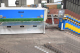 Машина гидровлической гильотины QC11K-8X5000 режа с Nc/CNC для листа металла