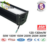 Der Fabrik-IP65 industrielles 250W lineares LED hohes Bucht-Licht Preis-des Lager-