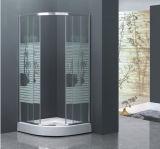 Sitio de ducha de la bandeja de la ducha de la fibra de vidrio del coco del surtidor del cuarto de baño de China