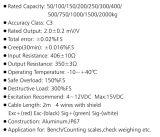 高精度の耐圧防爆電子テレメトリーのカウントのスケールの一点荷重計