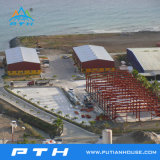 Vorfabrizierte Stahlkonstruktion-Rahmen-Werkstatt mit ISO-Bescheinigung