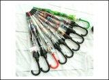 зонтик пузыря PVC ясности пластичной ручки 23inch x 8K изготовленный на заказ дешево