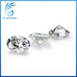 8x6mm 1CT Precio al por mayor claridad Vvs Ovalada Moissanite Diamond