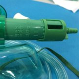 변하기 쉬운 산소 농도 (녹색, 배관에 소아과 늘어나는)를 가진 의무보급 다중 환풍 가면