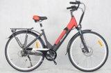 Vélo électrique caché urbain de batterie à vendre (FR-TDB07Z)