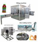Автоматическая сок ПЭТ бутылок для напитков заполнение Packging принятия решений для машины 500мл 2000 мл