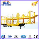 Tri remorque de camion de transport de véhicule de véhicule d'essieu à vendre