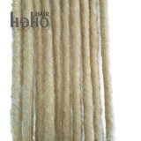 16 Zoll-blondes synthetisches Haar Dreadlocks Torsion-Haar mit Schleife