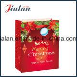 Kundenspezifisches Papier gedruckte Weihnachtsgeschenk-verpackeneinkaufen-Träger-Geschenk-Beutel