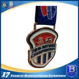 Medaglia personalizzata del premio del metallo di sport del hokey di disegno per la promozione di uso del ricordo