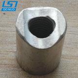 Personnalisé Pièce de fixation en acier nickelé de couplage de rainure de l'écrou spécial