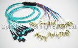 96f MPO-OM3 LC Pre-Terminated Patchcord de câble