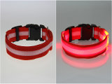 LED 개 목걸이 작거나 큰 개를 위한 나일론 애완 동물 제품