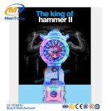 Il re della macchina a gettoni dell'interno del gioco di estinzione della macchina del gioco del martello del martello