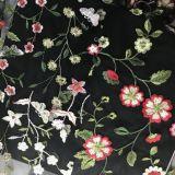 Disegno del fiore della maglia del ricamo l'altri disegno e colore
