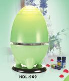 Purificatore Egg-Shaped verde dell'aria dell'acqua del LED per la casa