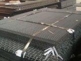 技術ふるい石切り場によって前ひだを付けられる編まれたワイヤースクリーンの網