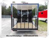 Reboque móvel da entrega do alimento dos carros dos Hamburger do preço de confiança na venda