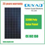 Bonne poly vente de panneau solaire des prix 300W 310W 320W de vente chaude marchés vers Afrique, le Moyen-Orient