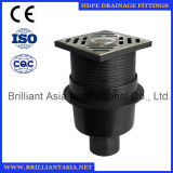 HDPE Reduzierstück passende HDPE Entwässerung passende HDPE Badezimmer-Rohrfittings HDPE Aussaugheber-Entwässerung-Befestigung