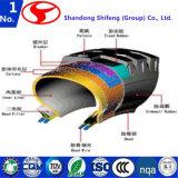 Nylon-6 sumergió la tela/el neumático/el poliester/la cuerda/la materia textil de la cuerda de neumático