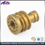 Peças de cobre fazendo à máquina do cobre do metal do CNC da automatização