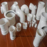 Tubo blanco modificado para requisitos particulares y guarnición del PVC para el abastecimiento de agua