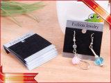 Cartões plásticos do cair do vestuário dos cartões do indicador da jóia