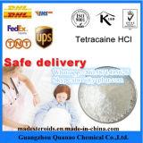 99% ReinheitTetracaine Hydrochprocaine/TetracaineHCl 136-47-0 für schmerzlinderndes Mittel