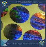 Concevoir le collant en fonction du client de laser d'hologramme avec le logo de compagnie