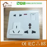 Soquete leve elétrico Home de venda quente do USB do interruptor da parede 2017