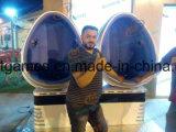 熱い販売法の標準的な9d卵の動きのVrの映画館のシミュレーターの二重シートのバーチャルリアリティ